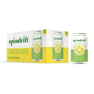 Spindrift Limeade Sparkling Water - 8pk/12 fl oz Cans