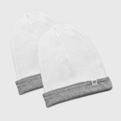Honest Baby Baby 2pk Organic Cotton Reversible Hat