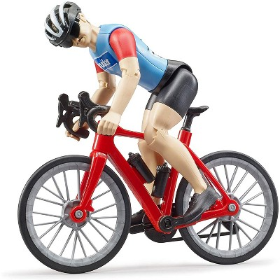Bruder bworld Road Bike with Figure