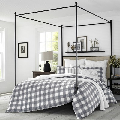 Stone Cottage Braxton Gray Comforter Set, Full/Queen