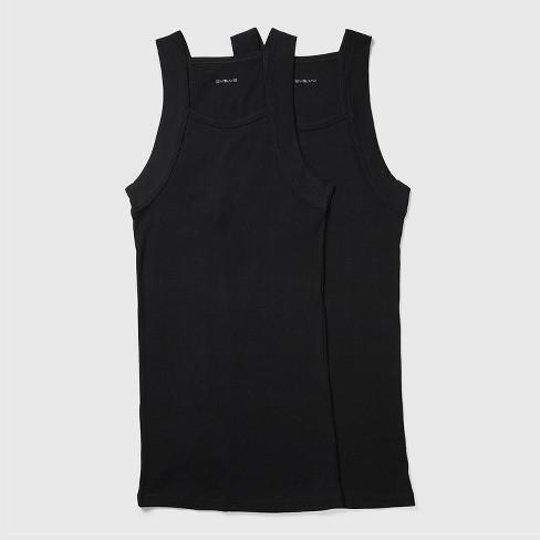 0b4440751ce06 Evolve By 2(X)ist Men s Cotton Square Cut Tank Shirt 2pk - Black L ...