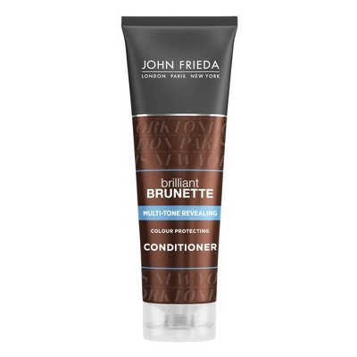 John Frieda Brilliant Brunette Multi-Tone Revealing Moisturizing Conditioner - 8.45oz