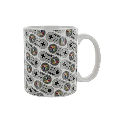 Paladone Products Ltd. Nintendo Classic SNES Controller 10oz Ceramic Coffee Mug