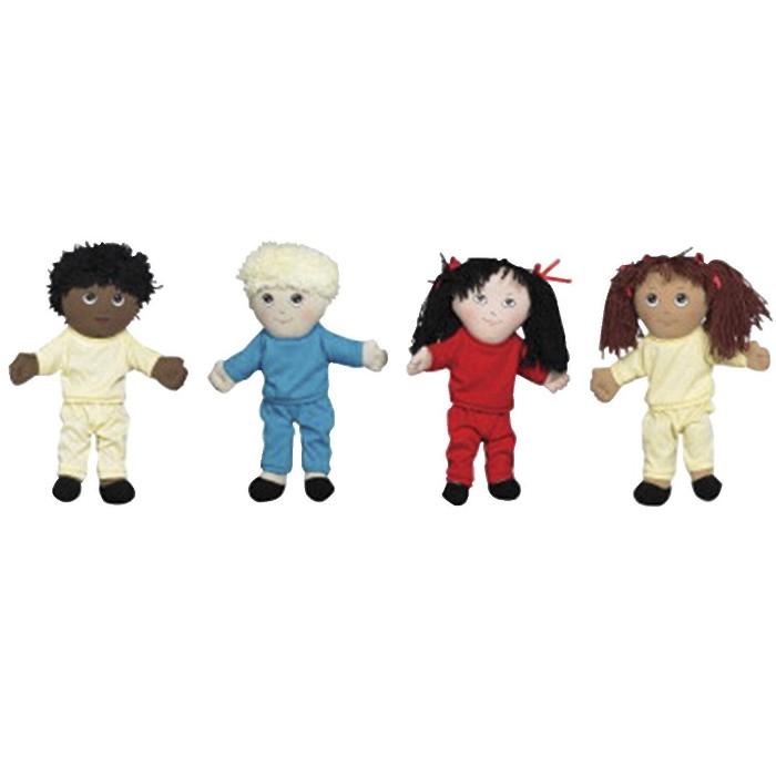 Children's Factory Multi-Ethnic Dolls, set of 4 - image 1 of 1