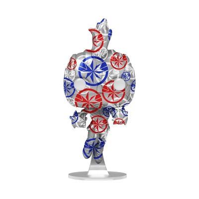 Funko POP! Artist Series: Marvel Patriotic Age - Captain Marvel (Target Exclusive)