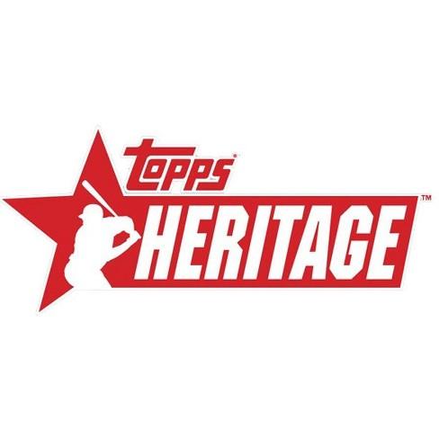 MLB Topps 2019 Heritage Baseball Trading Card HANGER Box [35 Cards] - image 1 of 1