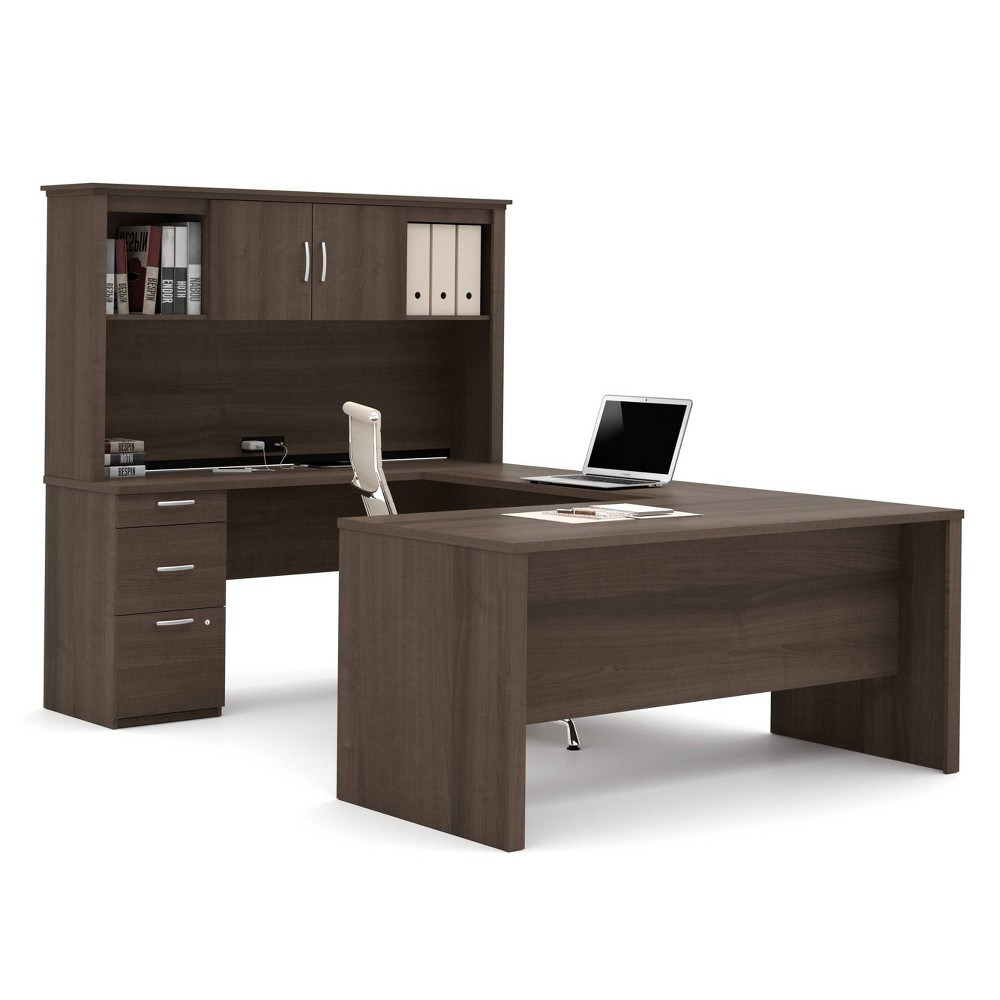 Image of Logan U Shaped Desk Antigua - Bestar