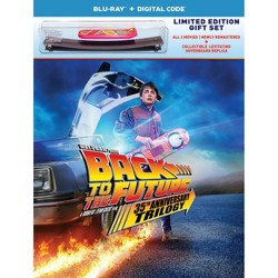 Back to the Future Trilogy 35th Anniversary Edition (Target Exclusive) (Blu-ray + Digital)