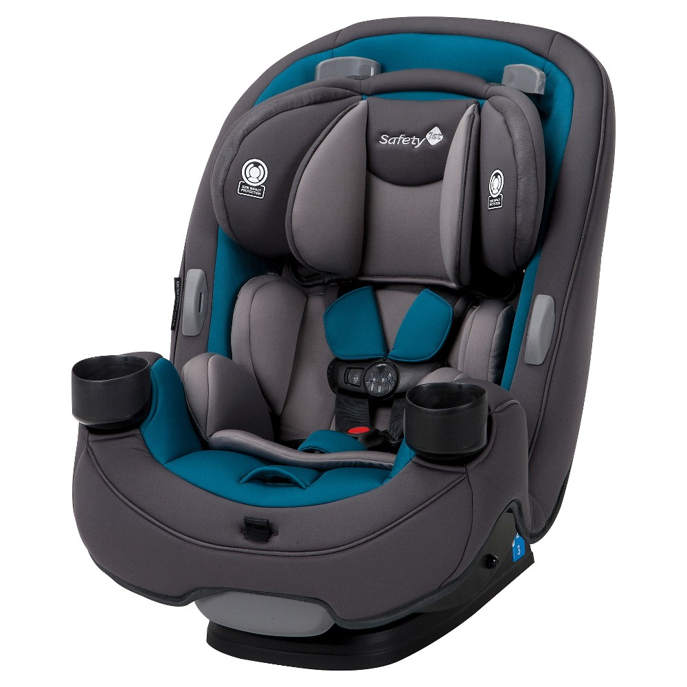 Image of Safety 1st Grow And Go 3-in-1 Convertible Car Seat - Blue Coral