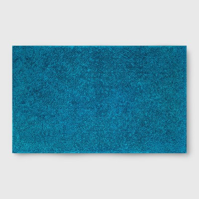 Perfectly Soft Solid Bath Mat Monte Carlo Turq - Opalhouse™