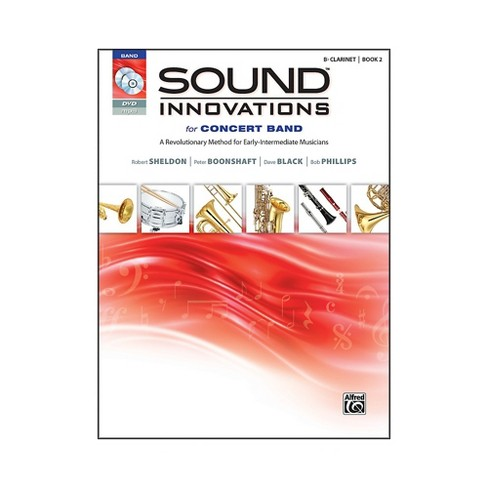 Alfred Sound Innovations for Concert Band Book 2 B-Flat Clarinet Book CD/DVD - image 1 of 1