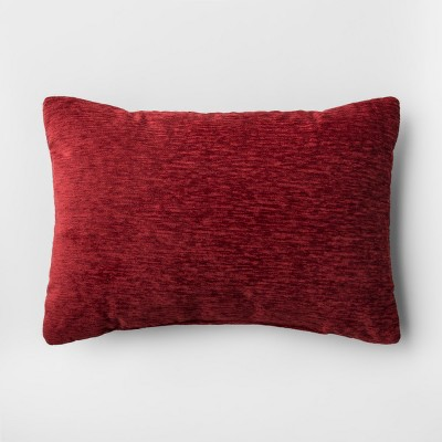 Red Solid Throw Pillow - Threshold™