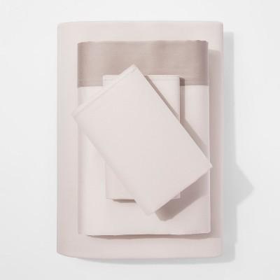 Modern Sheet Set (King)Taupe Hem 300 Thread Count - Project 62™ + Nate Berkus™