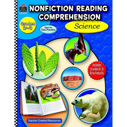 Teacher Created Resources Non-Fiction Reading Comprehension: Science Activity Book, Grade 2-3, 144 Pages - image 1 of 1