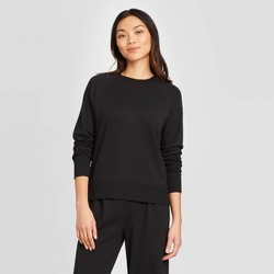 Women's Raglan Crewneck Pullover - A New Day™