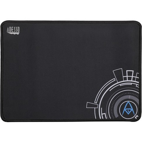 Adesso Truform P101 12 X 8 Inches Gaming Mouse Pad 0 1 X 8 Dimension Black Rubber Base Microfiber Cloth Scratch Resistant Anti Slip Target