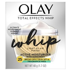 Olay Total Effects Whip Fragrance Free Facial Moisturizer - SPF 25 - 1.7oz