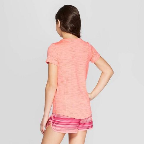 5a41263e Girls' Super Soft Tech T-Shirt - C9 Champion® Sunset Peach S : Target