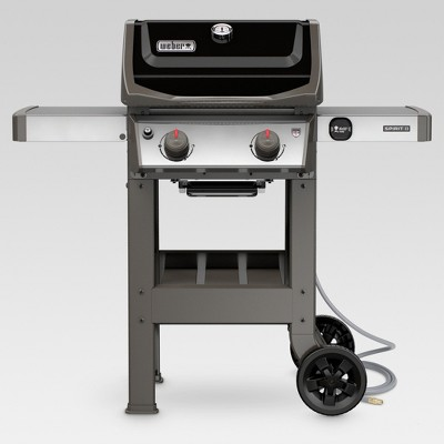 Weber Spirit II E-210 Natural Gas Grill - Black