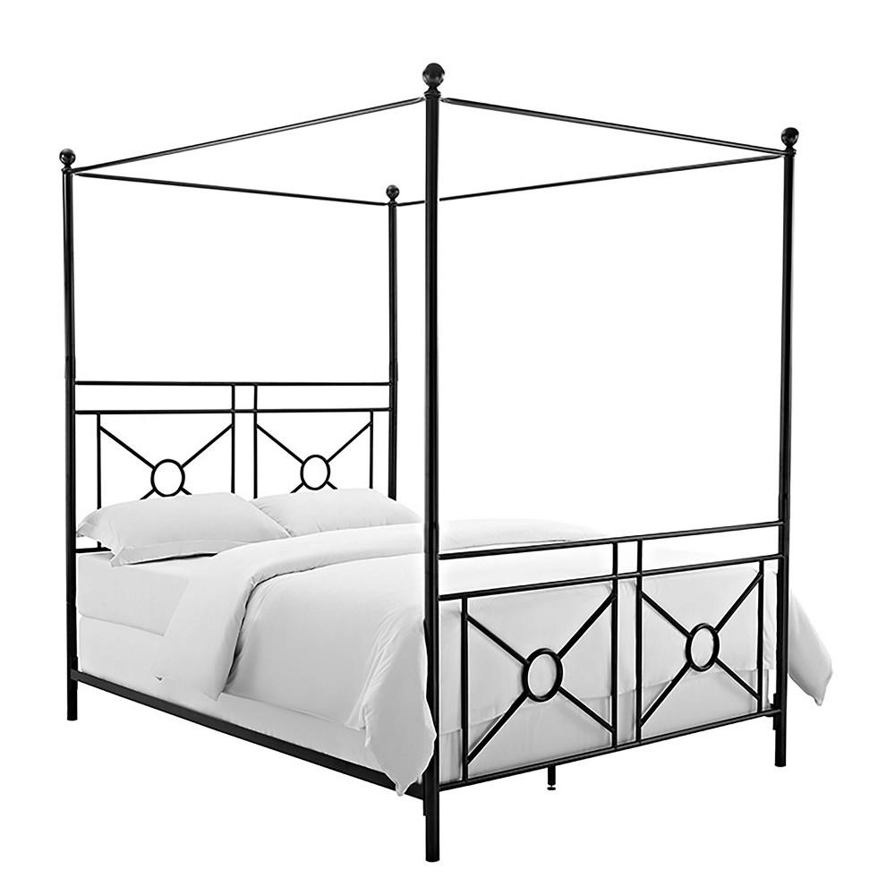 Montgomery Canopy King Bed Black - Crosley