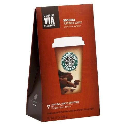 Starbucks VIA Mocha Flavored Medium Roast Coffee - 7ct - image 1 of 1