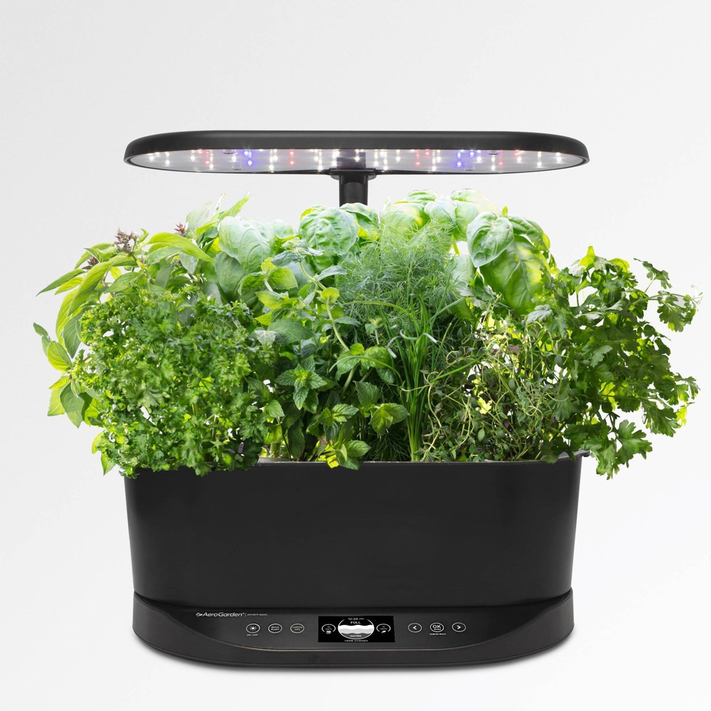 Image of Bounty Basic Planter Set Black - Aerogarden