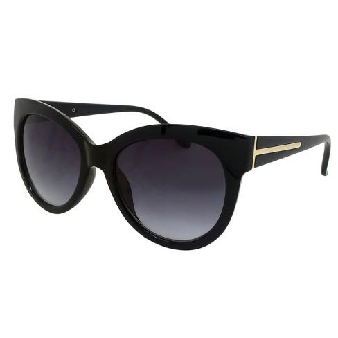 Women s Cateye Sunglasses - Black   Target b4903703f