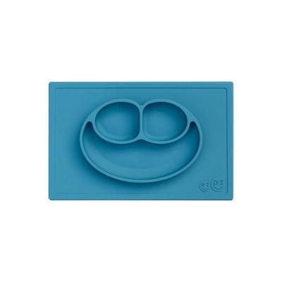 ezpz Happy Mat Dining Plate - Blue
