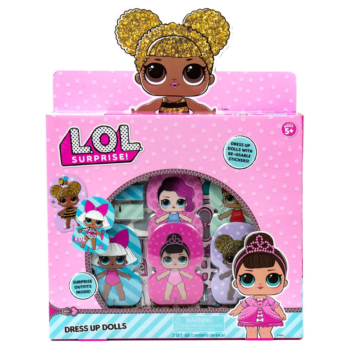 L.O.L. Surprise! Surprise Dress Up Dolls Activity Kit - image 1 of 4