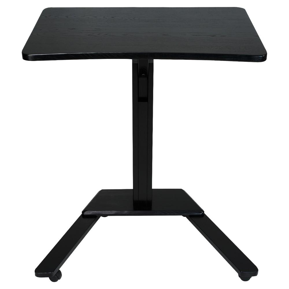 Stand Up Desk/Podium - Black - Flora Home