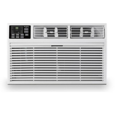 Whirlpool 8,000 BTU 115V Through the Wall Air Conditioner WHAT081-HAW with 4,200 BTU Supplemental Heating