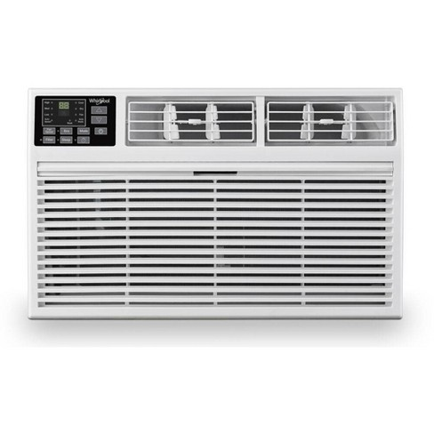 Whirlpool 8,000 BTU 115V Through the Wall Air Conditioner with 4,200 BTU Supplemental Heating - image 1 of 4