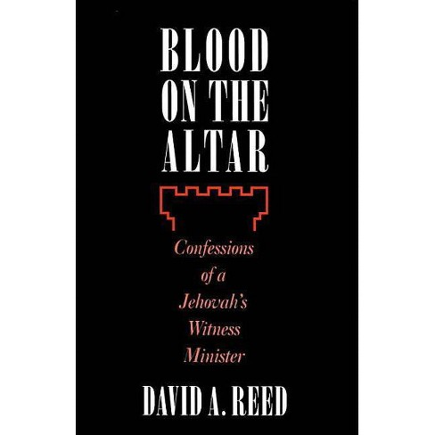 Blood on the Altar - by  David A Reed (Hardcover) - image 1 of 1