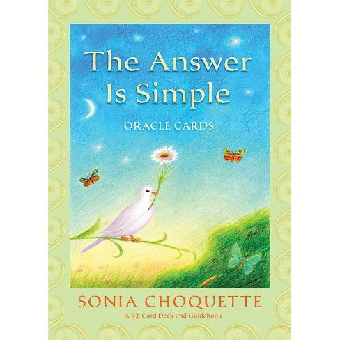 The Answer Is Simple Oracle Cards - by  Sonia Choquette (Mixed media product) - image 1 of 1