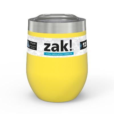 Zak Designs Designs11.5oz DW SS Wine Tumbler - Yellow