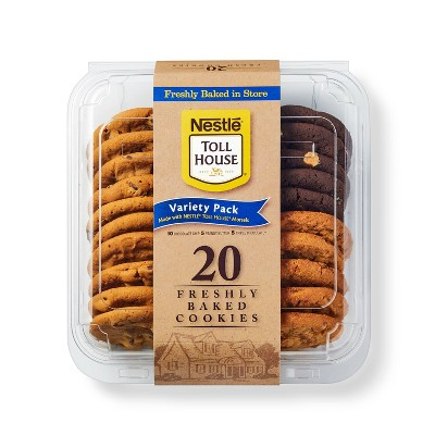 Nestle Toll House Variety Pack Cookies - 20ct