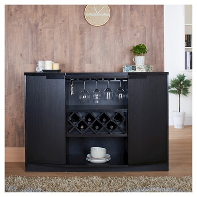 Rosio Transitional Criss Cross Wine Storage Dining Buffet   Furniture Of  America : Target