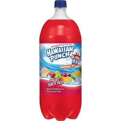 Hawaiian Punch Fruit Juicy Red - 2 L Bottle