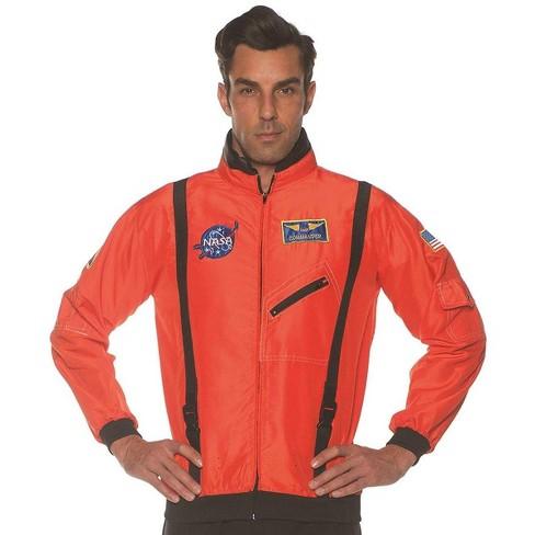 Underwraps Orange Astronaut Space Jacket Teen Costume Accessory - image 1 of 1