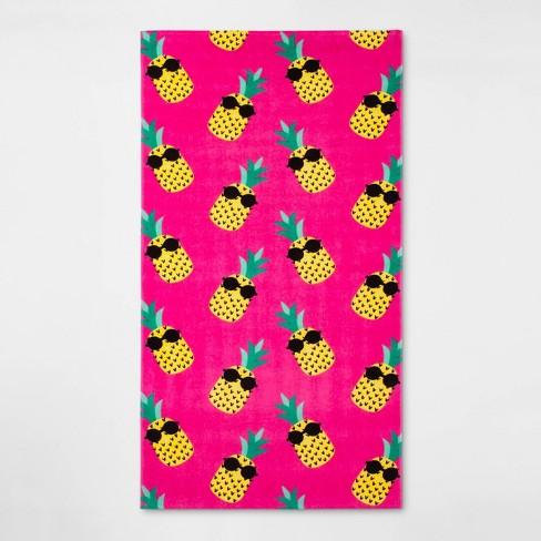 Pineapples Beach Towel - Sun Squad™ - image 1 of 2