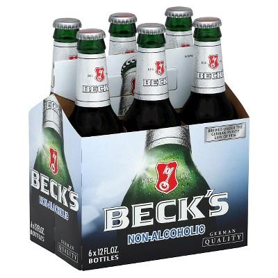 Beck's Non-Alcoholic Beer - 6pk/12 fl oz Bottles