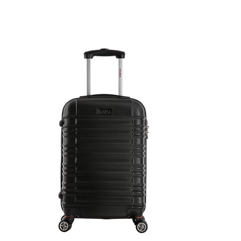 "InUSA New York 20"" Hardside Spinner Carry On Suitcase - Black - image 1 of 6"