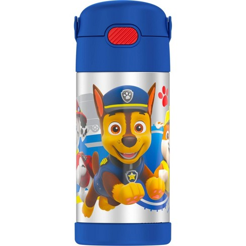 Thermos PAW Patrol 12oz FUNtainer Water Bottle with Bail Handle - Blue - image 1 of 4