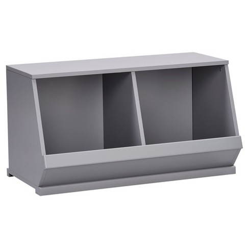 Kelly Modular Stackable Double Storage Cubby - Inspire Q - image 1 of 6