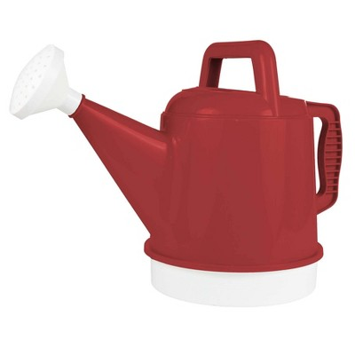 2.5gal Deluxe Watering Can Burnt Red - Bloem
