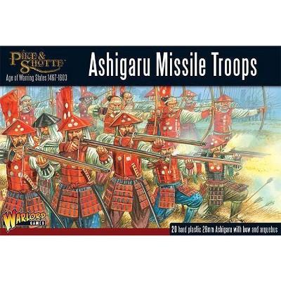 Ashigaru Missile Troops Miniatures Box Set