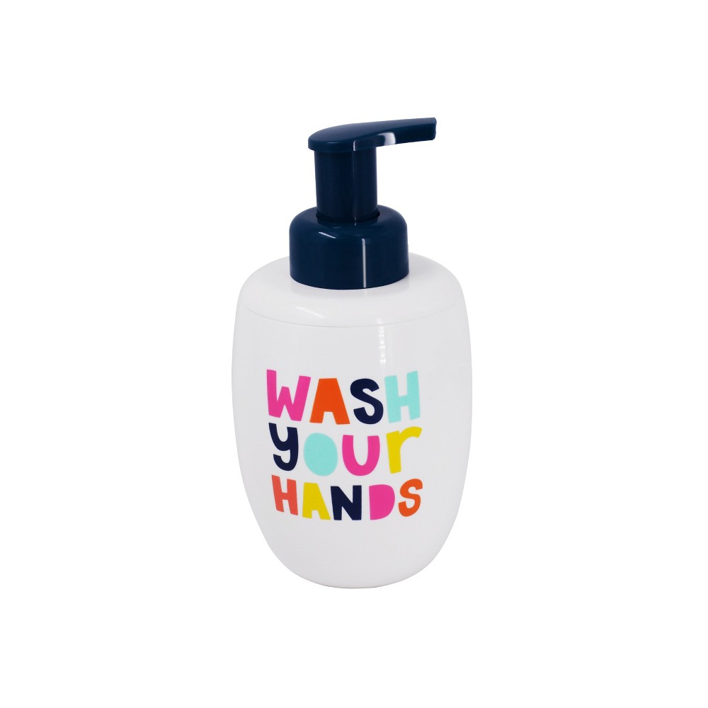 Image of Wash Your Hands Foaming Soap Dispenser - Pillowfort