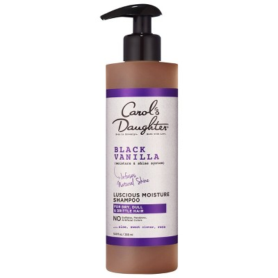Carol's Daughter Black Vanilla Moisture & Shine Sulfate Free Shampoo for Dry Hair 12 floz