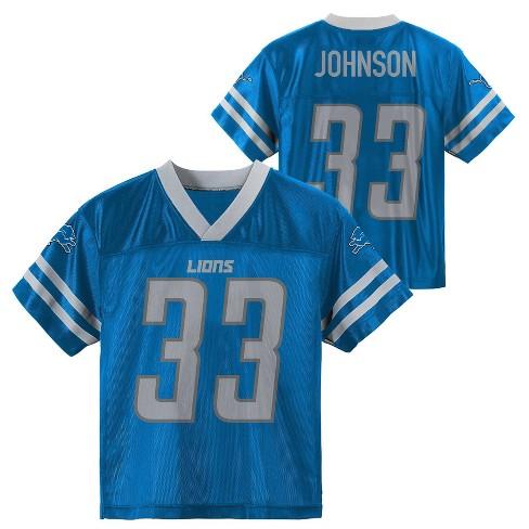 the latest 66d46 669bb NFL Detroit Lions Toddler Boys' Johnson Kerryon Jersey - 2T
