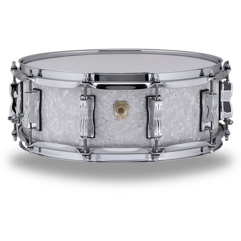 Ludwig Classic Maple Snare Drum 14 x 5 in. Vintage White Marine Pearl - image 1 of 1